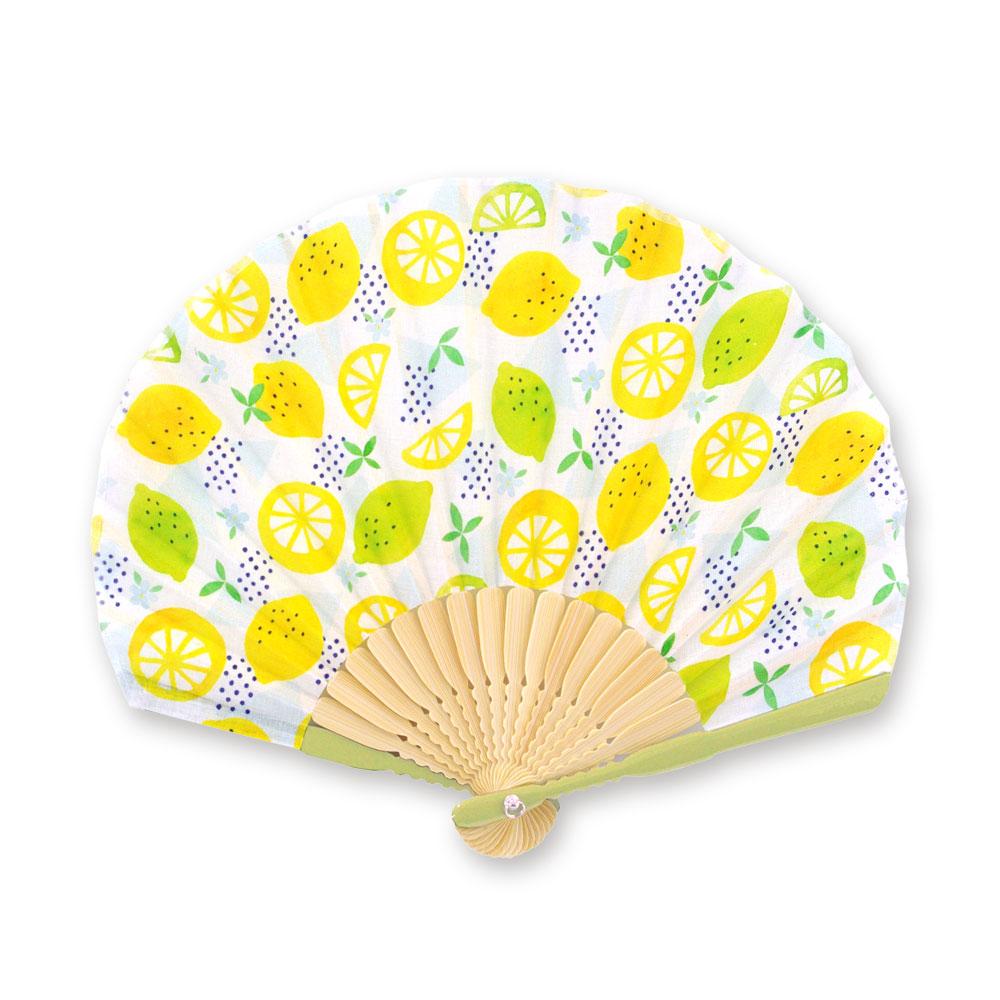 2020春のギフト扇子 レモン