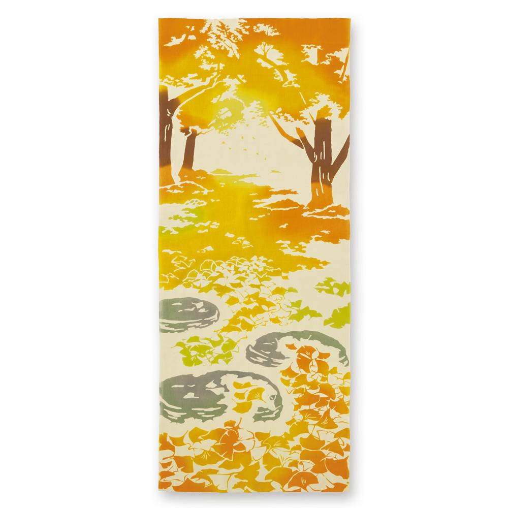 kenema 手ぬぐい 銀杏の絨毯