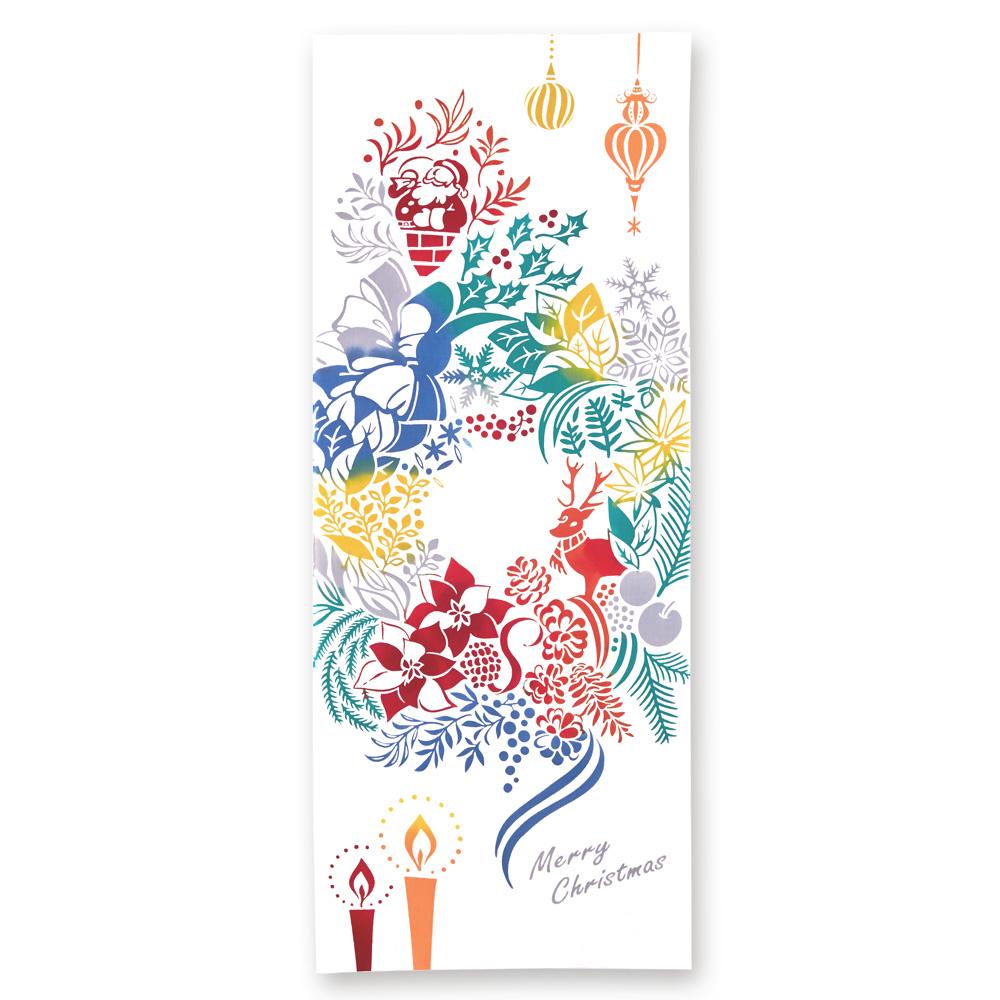 kenema 手ぬぐい Christmas wreath