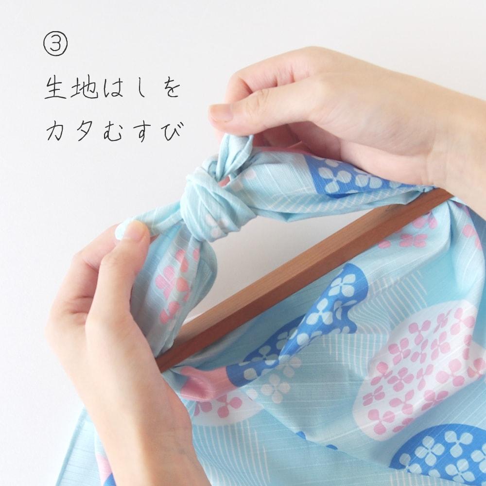 Furoshiki Patchin(風呂敷パッチン)使い方 手順③