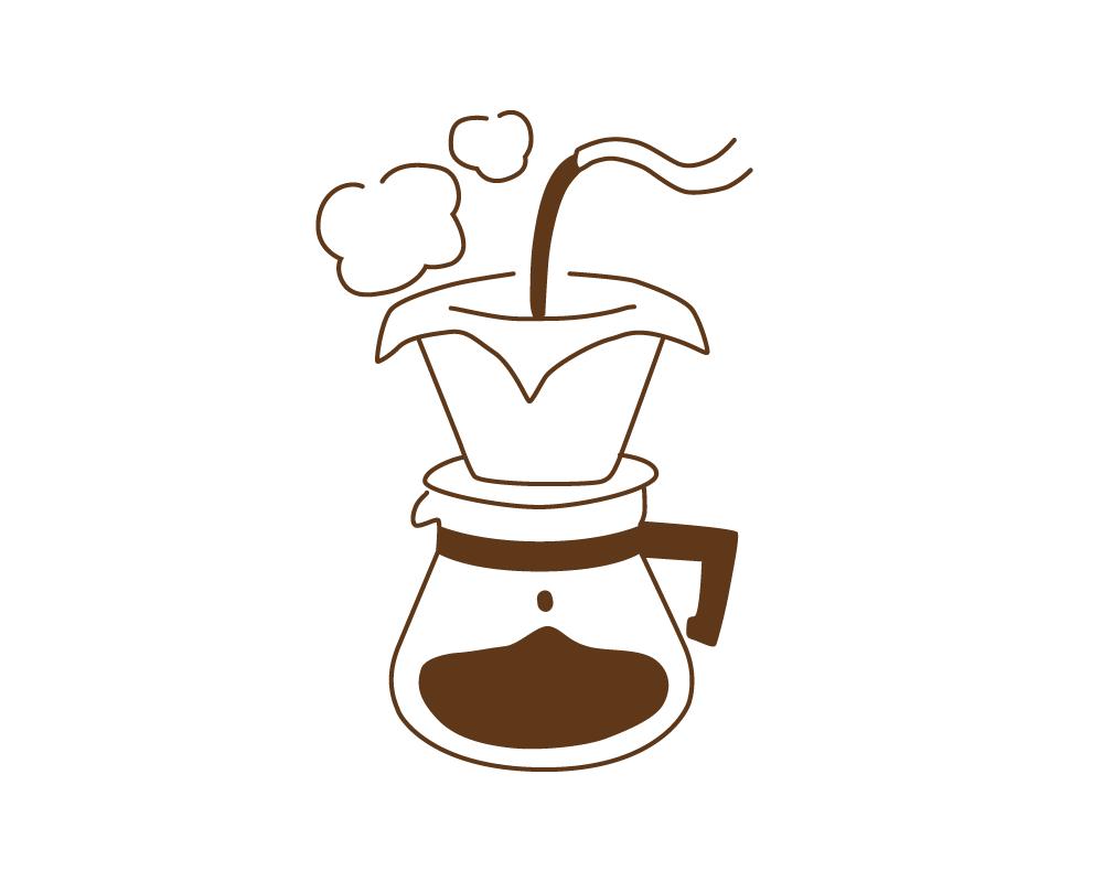 晒木綿(さらしもめん)は、雑味の無いおいしいコーヒーが入れられます。